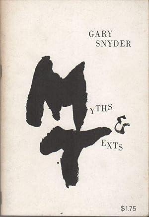 MYTHS & TEXTS: SNYDER, Gary