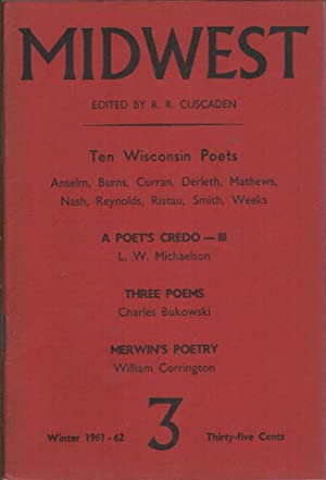 MIDWEST Number 3: Winter 1961-1962: CUSCADEN, R.R. (Editor)