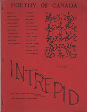INTREPID No. 16 Special Issue [Poetry of Canada] - Summer/Fall 1969