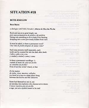 SITUATION #18: MOLINA, Joanne, Mark