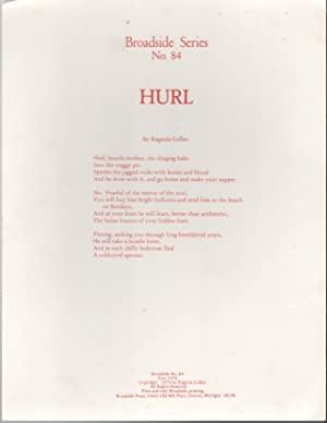 HURL (Broadside Series No. 84)