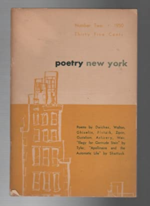 POETRY NEW YORK / A MAGAZINE OF VERSE AND CRITICISM: 1950 NO. 2