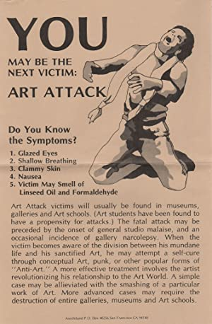YOU MAY BE THE NEXT VICTIM: Art Attack [Poster]