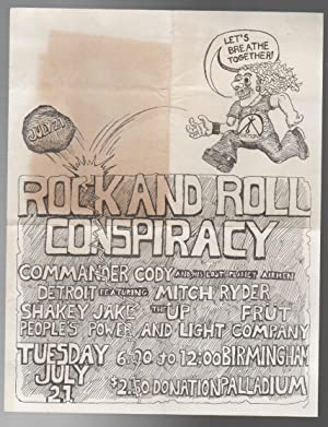 ROCK AND ROLL CONSPIRACY [CONCERT FLYER]