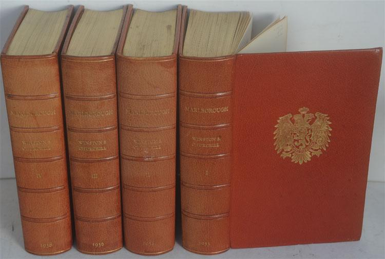 Marlborough: His Life and Times, limited edition binding: Churchill, Winston S.
