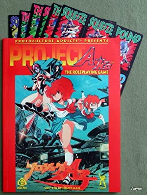 Project A-ko: The Roleplaying Game: Jimmy Mah