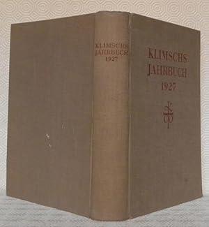 KLIMSCHS JAHRBUCH. XX.Band. Technische Abhandlungen und Berichte