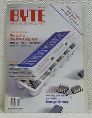 BYTE. The small systems journal. April 1988.