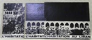 L?habitation au Liban. Vol. I-II. (Complet).Première partie.: KALAYAN, Haroutune Y.