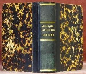 LEXICON Graeco Latinum Manuale ex Optimis Libris