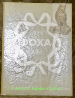 DOXA 1889 -1949. 10 Fables de La Fontaine.Créations et mise en page de Eric Poncy.