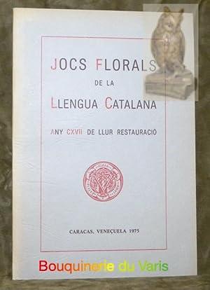Jocs florals de la llengua catalana. Any