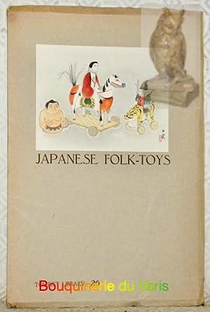 Japanese Folk-Toys.: NISIZAWA, Tekiho.
