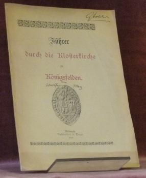 Führer durch die Klosterkirche zu Königsfelden.: MERZ, Walther.
