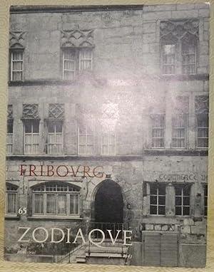FRIBOURG. Zodiaque n° 65. Textes de Gonzague: Reynold, Gonzague de.