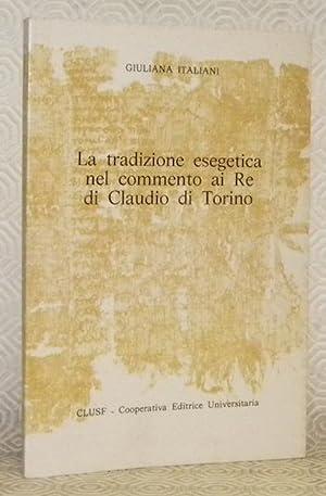 La tradizione esegetica nel commento ai Re: ITALIANI, Giuliana.