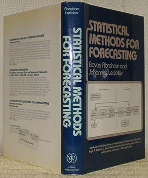 Statistical Methods for Forecasting.: ABRAHAM, Bovas. -