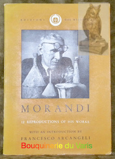 12 Paintings by Giorgio MORANDI. With an: Arcangeli, Francesco.