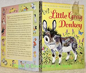 Little Gray Donkey.A Little Golden Book.: LUNT, Alice. GERGELY,