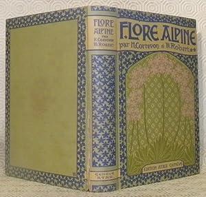 La flore alpine. Illustrée de 100 aquarelles: CORREVON, Henry. -