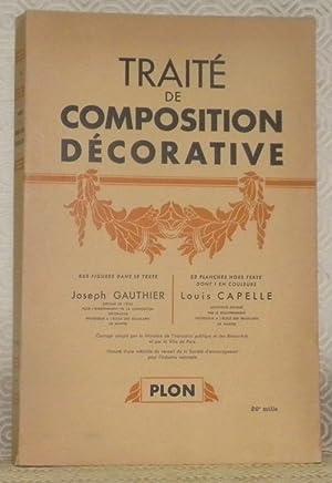 Traité de composition décorative. 865 Figures dans: GAUTHIER, Joseph. -