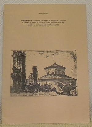 L?insuperabile creazione del passato, presente e futuro.: RITZ, Sandor.