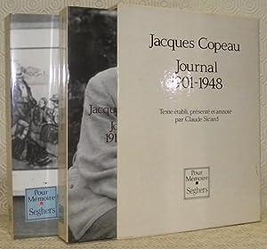 Journal 1901 - 1948. Première partie: 1901: COPEAU, Jacques.