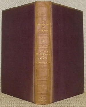 La Sainte Bible, texte de la vulgate,: LE HIR, M.