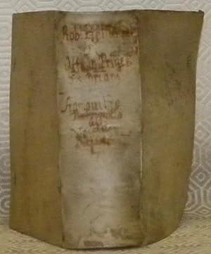 De Officio Principis Christiani Libri tres Auctore: BELLARMINO, Robert.