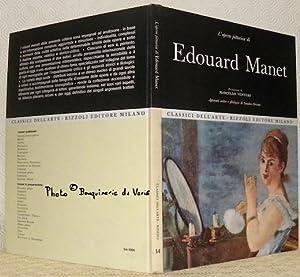 L?opera pittorica di Edouard Manet. Presentazione di: VENTURI, Marcello. -