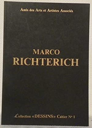 MARCO RICHTERICH. Collection Dessins. Cahier n° 1.