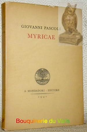 Myricae.: PASCOLI, Giovanni.