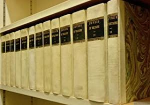 Oeuvres complètes de Voltaire. Avec des notes: VOLTAIRE.