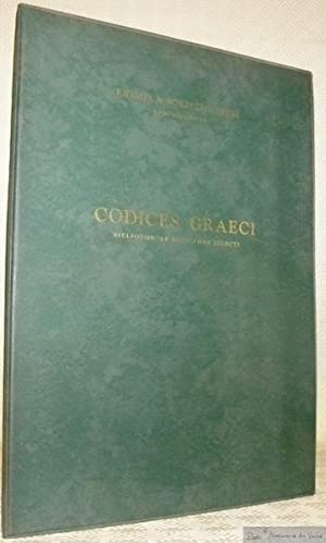 Codices graeci Bibliothecae Vaticanae selecti temporum locorumque: FOLLIERI, Henrica (Edidit).
