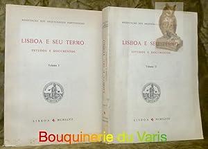 Lisboa e seu termo. Estudos e dodumentos.