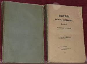 REVUE Franc-Comtoise. Sciences, Lettres et Arts. Année 1844.1re Livraison. 1er semestre + 4e...