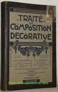 Traité de composition décorative.: Gauthier, Joseph. -