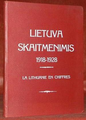 LIETUVA SKAITMENIMIS 1918 -1928 m. Diagramu Albomas.La