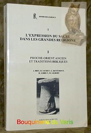 L?expression du sacré dans les grandes religions: Ries, J. -
