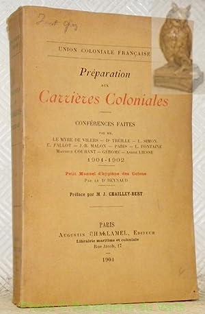 Union Coloniale Française. Préparation aux carrières coloniales.: Le Myre de