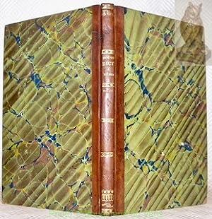 Supplément au Nouveau Dictionnaire de Médecine, chirurgie,: TAVERNIER, A.