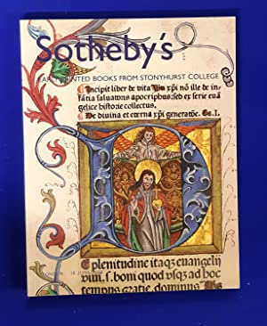 A Selection of Early Printed Books from Stonyhurst College Sold in Aid of Bursaries [ Sotheby's, ...