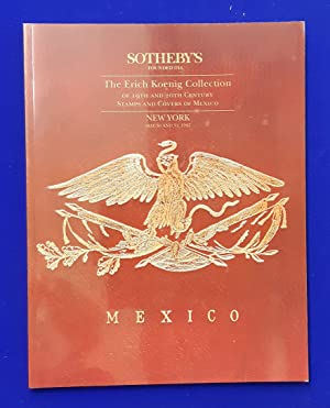 The Erich Koenig Collection of 19th and 20th Century Stamps and Covers of Mexico. [ Sotheby Parke...