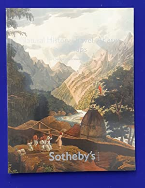 Natural History, Travel, Atlases and Maps [ Sotheby's, auction catalogue, sale date: 13 November ...