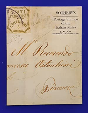 Postage Stamps of the Italian States the property of an eminent European family. [ Sotheby's, auc...