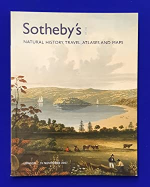 Natural History, Travel, Atlases and Maps. [ Sotheby's, auction catalogue, sale date: 15 November...