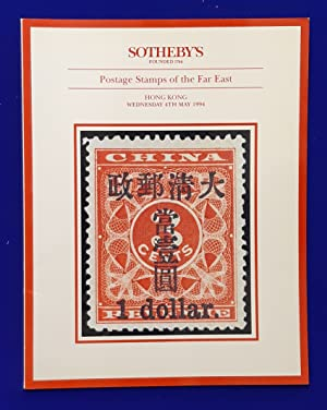 Postage Stamps of the Far East (Sixth Session) [ Sotheby's, auction catalogue, sale date: 4 May 1...