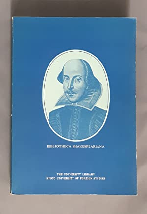 Bibliotheca Shakespeariana: A Catalogue.
