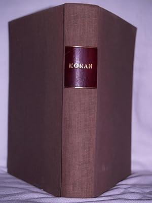 Corani: Textus Arabicus The Koran: Fluegel, Gustavus (editor)