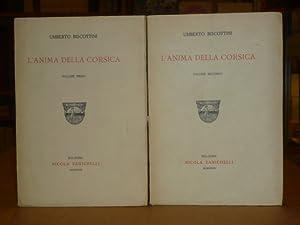 L'anima della Corsica. Vol. I, vol. II.: BISCOTTINI Umberto